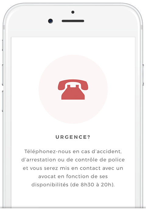 Étape 4 : En cas d'urgence, vous pouvez nous appeler