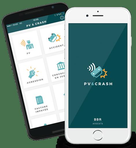 L'application mobile PV & Crash permet de transmettre facilement vos documents à nos avocats qui se chargeront de trouver une solution à vos problèmes.